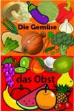 German Fruit and Veg - Multi-pack PowerPoint x2, Worksheet