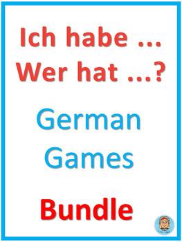 German Games  Ich habe ... Wer hat ...? Bundle