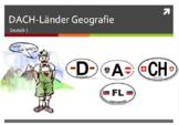 German Geography Bundle - DACH Länder