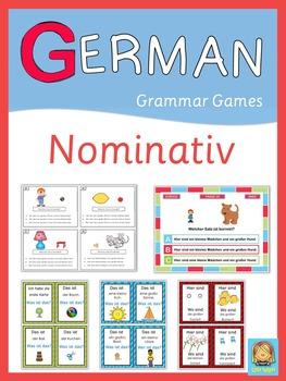 German Grammar Games  Nominativ