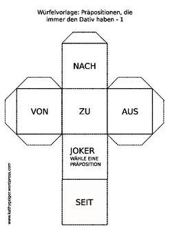 German Grammar, Prepositions Akkusativ-Dativ for Level A1-A2