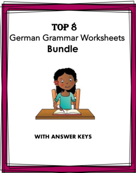 German Grammar Worksheets Bundle: 6 Grammar Points!