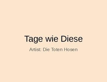 (German Language) German Grammar in Song Context—Teaching with Music
