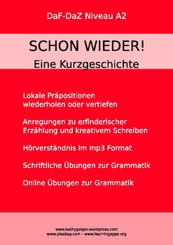 German Grammar with Short Story, level A2