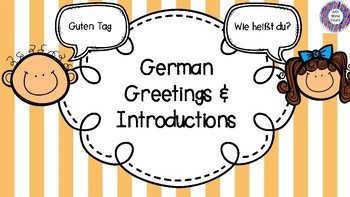 German greetings and introductions by just good stuff tpt german greetings and introductions m4hsunfo