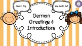 German - Greetings and Introductions