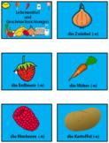 German Groceries and Flavours - PowerPoint, Worksheet + Fl