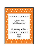 German Halloween Activity * Pac