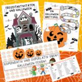 German Halloween Bundle for Levels 1 & 2
