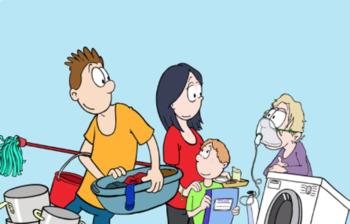 German Helping at Home / zu Hause helfen Bundle