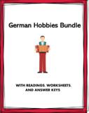 German Hobbies Bundle: Hobbys und Freizeit Lesungen: 5 Resources @35% off!