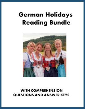 German Holiday Reading Bundle: Oktoberfest, Weihnachten, Ostern @40% off!