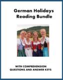 German Holiday Reading Bundle: Oktoberfest, Weihnachten, Ostern @35% off!