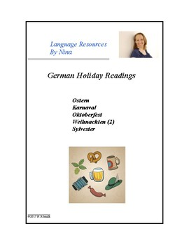 German Holiday Readings - Ostern, Weihnachten, Sylvester