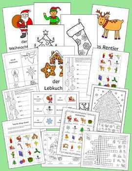 German Holidays and Seasons Bundle