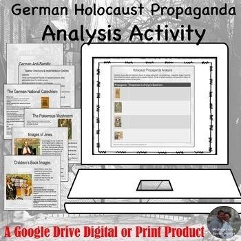 German Holocaust Propaganda Analysis Google Drive Lesson Activity