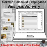 German Holocaust Propaganda Analysis Google Drive Lesson Activity