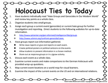 German Holocaust Ties to Today Google Drive Lesson