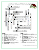 German Household Vocabulary Words Crossword Puzzle