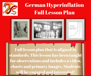 Germany Hyperinflation Full Lesson Plan