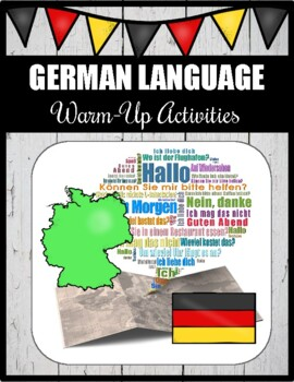 German Language Warm-Up Activities