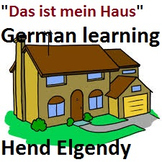 """German Learning A1-1 :Das ist mein Haus""""This is my house"""""""