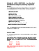 German Level 1/2 - FOODS Extension Activity Packet