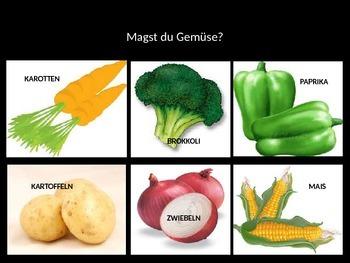 German Level 1 - Foods Powerpoint