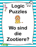 German Logic Puzzles  Wo sind die Zootiere?