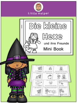 German Mini Book  Die kleine Hexe und ihre Freunde