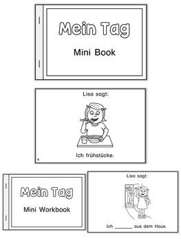 German Mini Book - Ein Tag mit Lisa