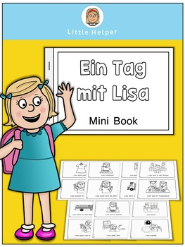 German Mini Book - Ein Tag mit Lisa