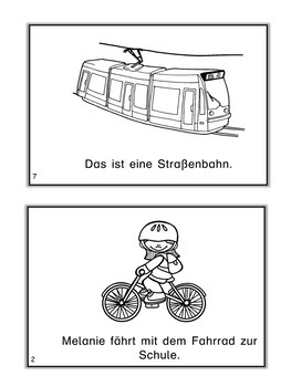 German Mini Book  Fahrzeuge