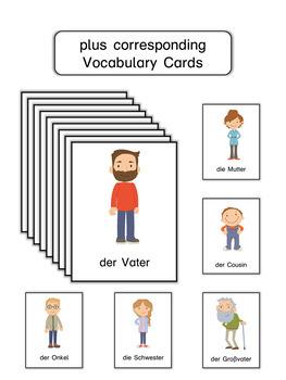 German Mini Book  Meine Familie