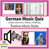 German Music Quiz with German Medley - Deutsche Musik