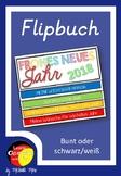 German New Year Flip Book- Deutsche Schreibanlässe - Flipbuch Neujahr - DaF