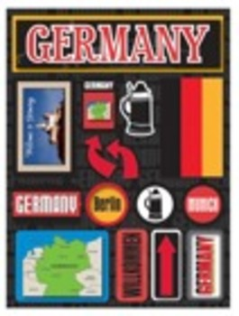 German Number Word Jigsaw Puzzles: One to Thirty