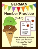 German Numbers (0-10) Ice Cream Number Pack