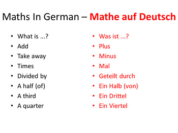 Numbers Bundle. German Powerpoints, Lesson Plans and Resouces & Bonus Lessons