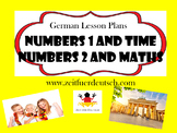 Numbers Bundle. German Powerpoints, Lesson Plans and Resouces & Bonus Lessons