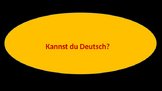 German Numbers in Context PowerPoint