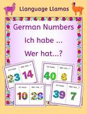 German Numbers up to 50 Zahlen Ich habe ... Wer hat ...? Game - Free