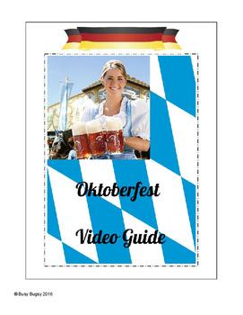 Fall Oktoberfest Video Guide Worksheet in English