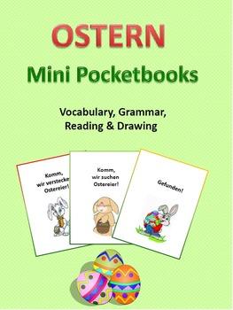German - Ostern/Easter - Pocketbooks (Verbs, Prepositions,