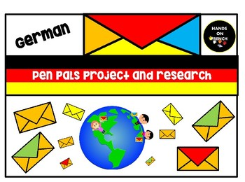 German - Pen pals Project Research and Activities