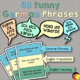 German Phrases- English translation and meaning- Deutsche Phrasen & Bedeutung