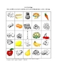 German Picture Food Bingo