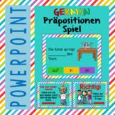 German PowerPoint Game prepositions