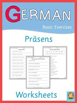 German Präsens Worksheets