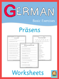 German Präsens Worksheets